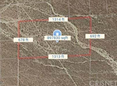 0 Avenue 22, Mojave, CA 93501 (#SR20262062) :: Zutila, Inc.