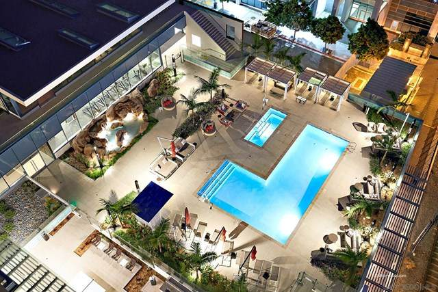 1388 Kettner Blvd #701, San Diego, CA 92101 (#210000936) :: Doherty Real Estate Group