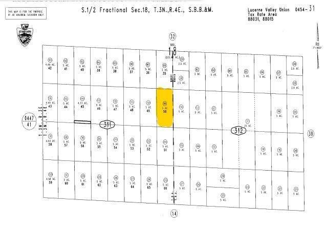0 Quailbush, Johnson Valley, CA 92285 (#EV21007595) :: RE/MAX Masters