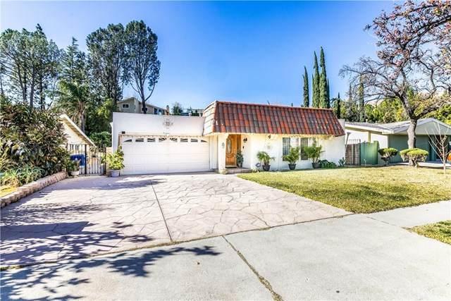 12721 Daryl Avenue, Granada Hills, CA 91344 (#SR21008722) :: Compass