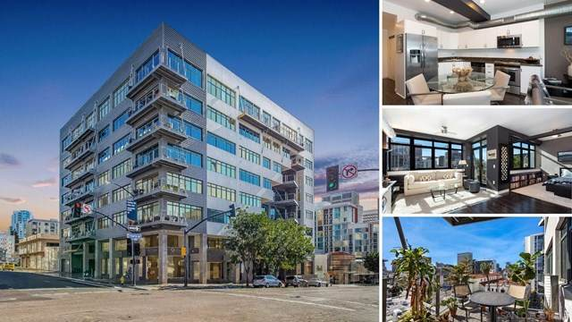 1551 4Th Ave #510, San Diego, CA 92101 (#210001085) :: The Najar Group