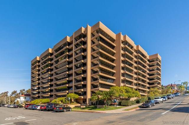 230 W Laurel #506, San Diego, CA 92101 (#210001380) :: The Najar Group