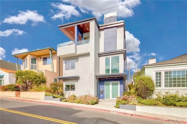339 27th Street, Hermosa Beach, CA 90254 (#SB21010264) :: The Miller Group