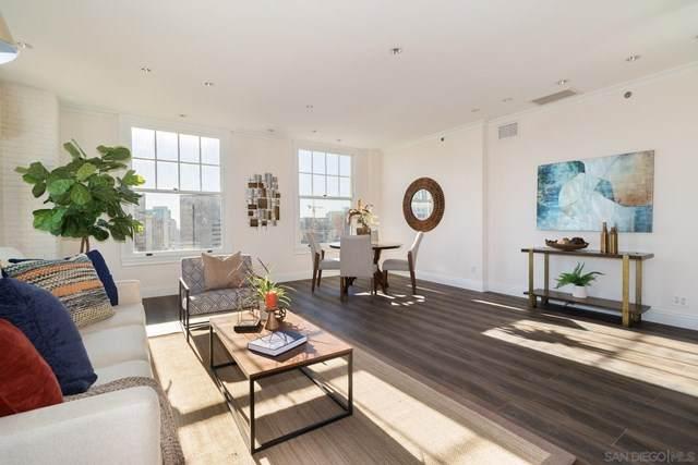 702 Ash St #1103, San Diego, CA 92101 (#210001422) :: Blake Cory Home Selling Team
