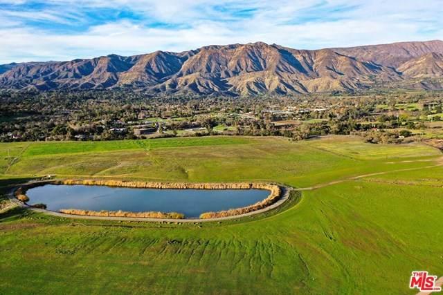 12516 Creek Road, Ojai, CA 93023 (#21681636) :: Rogers Realty Group/Berkshire Hathaway HomeServices California Properties
