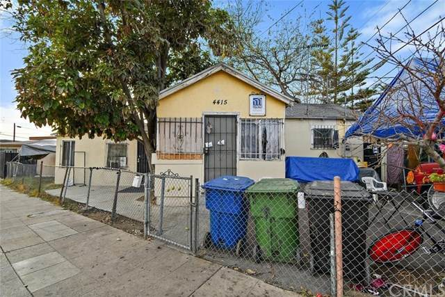 4415 San Pedro Place, Los Angeles (City), CA 90011 (#DW21008934) :: Team Forss Realty Group