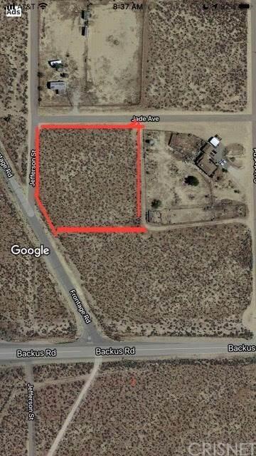 0 Jefferson, Rosamond, CA 93501 (#SR21011200) :: Mark Nazzal Real Estate Group