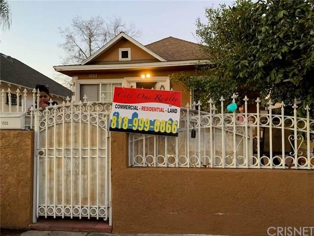 1553 E 56th Street, Los Angeles (City), CA 90011 (#SR21011498) :: Blake Cory Home Selling Team