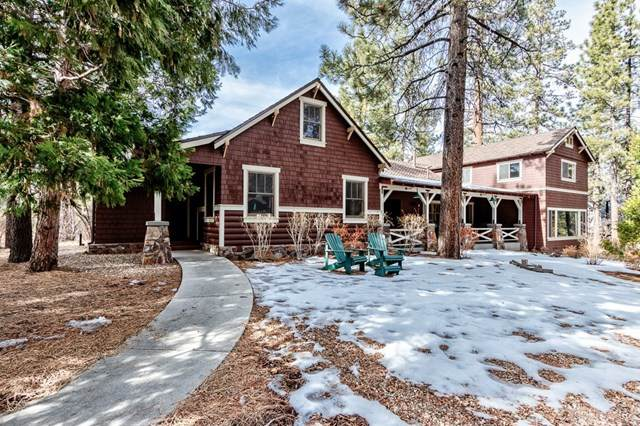 42350 Fox Farm Road, Big Bear, CA 92315 (#IG21009544) :: The DeBonis Team