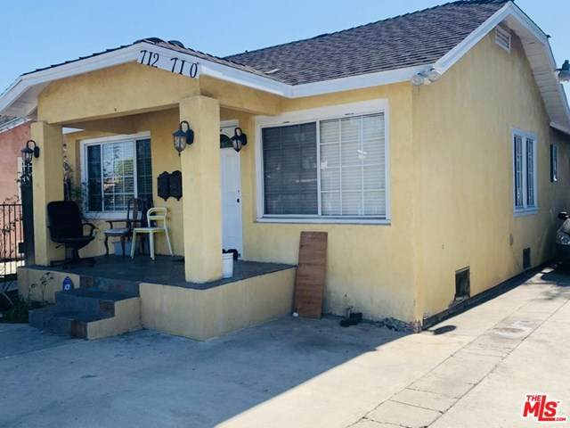 712 E 73Rd Street, Los Angeles (City), CA 90001 (#21682184) :: Team Forss Realty Group