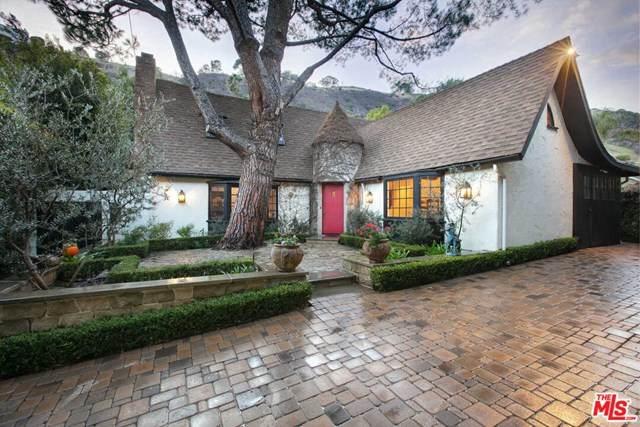 1757 Franklin Canyon Drive, Beverly Hills, CA 90210 (#21681462) :: Zen Ziejewski and Team