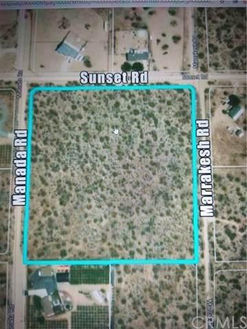 0 Sunset Road, Phelan, CA 92371 (#CV21012376) :: A|G Amaya Group Real Estate