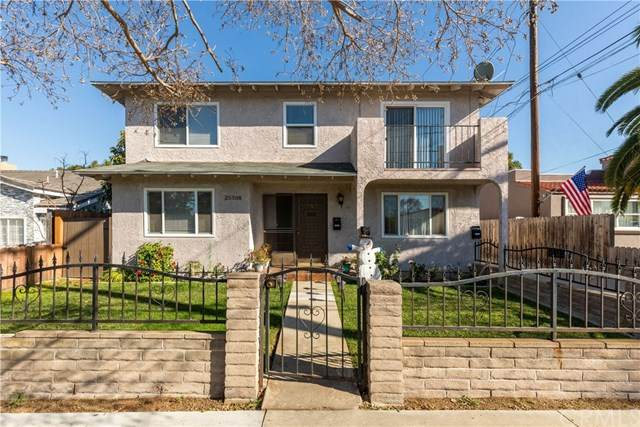 25308 Cypress Street, Lomita, CA 90717 (#SB20263470) :: Re/Max Top Producers