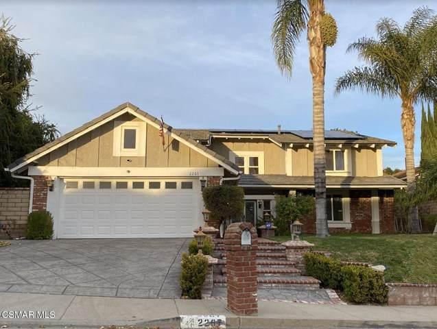 2267 Knollcrest Place, Westlake Village, CA 91361 (#221000298) :: Legacy 15 Real Estate Brokers