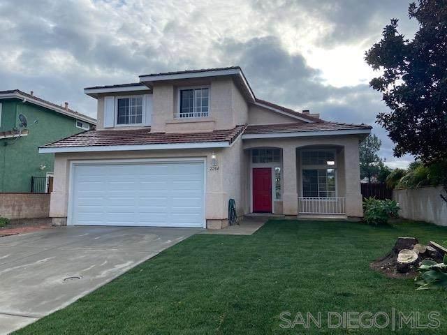 2284 Eastbrook Road, Vista, CA 92081 (#210001673) :: American Real Estate List & Sell