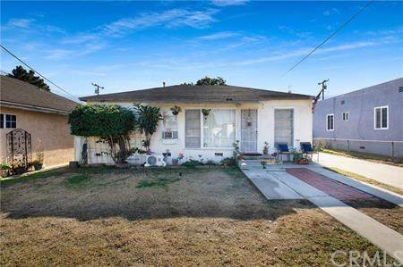 2332 W Lincoln Street, Long Beach, CA 90810 (#RS21013581) :: Bob Kelly Team