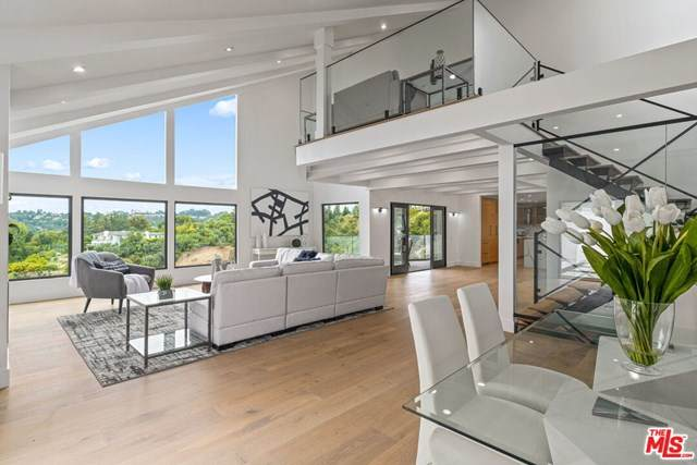 9645 Highridge Drive, Beverly Hills, CA 90210 (#21680526) :: Mint Real Estate