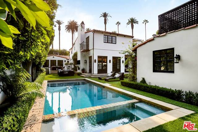 510 N Hillcrest Road, Beverly Hills, CA 90210 (#21683378) :: Doherty Real Estate Group