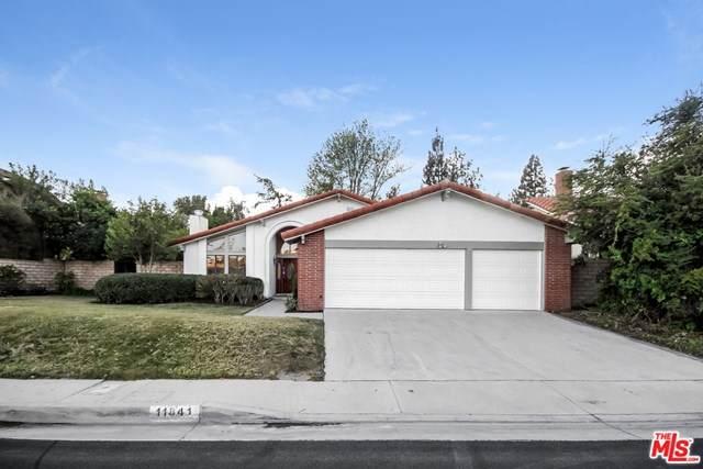 11841 Laughton Way, Northridge, CA 91326 (#21683090) :: Re/Max Top Producers