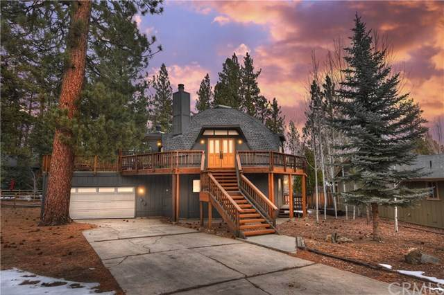 318 Dove Court, Big Bear, CA 92315 (#EV21013459) :: The Miller Group