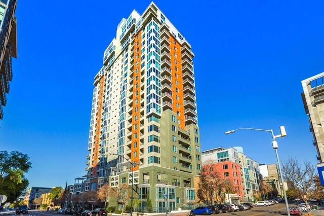 300 W Beech St #1910, San Diego, CA 92101 (#210001863) :: Doherty Real Estate Group