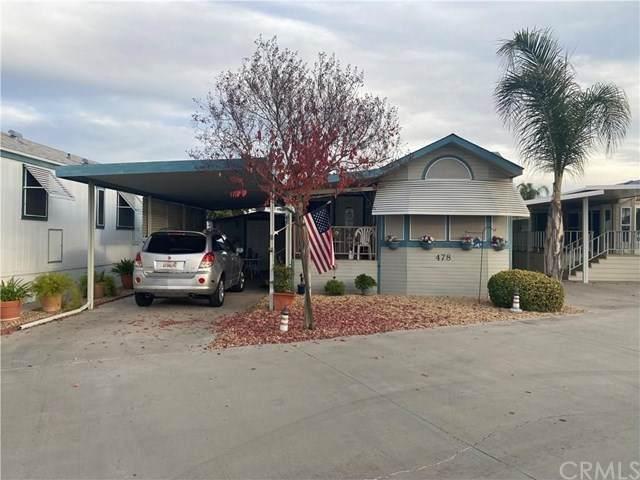 1295 S Cawston Avenue #478, Hemet, CA 92545 (#IV21015233) :: Blake Cory Home Selling Team