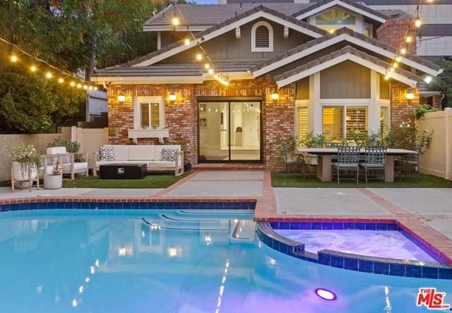 16041 Dickens Street, Encino, CA 91436 (#21684584) :: RE/MAX Masters