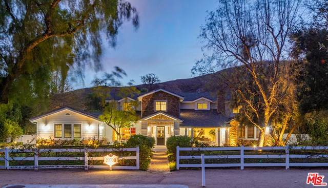 23738 Long Valley Road, Hidden Hills, CA 91302 (#21683714) :: American Real Estate List & Sell