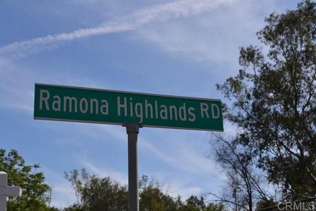Ramona Highlands Rd & Hwy 78, Ramona, CA 92065 (#NDP2100877) :: Jett Real Estate Group