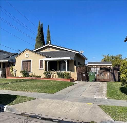 3457 Hill Street, Huntington Park, CA 90255 (#DW21017220) :: A|G Amaya Group Real Estate