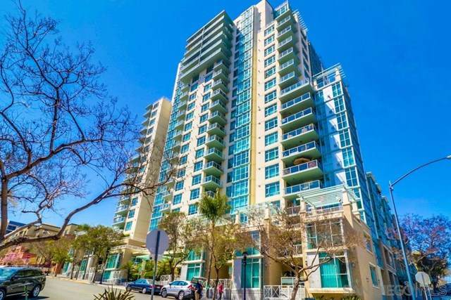 850 Beech St #1301, San Diego, CA 92101 (#210002173) :: The Bhagat Group