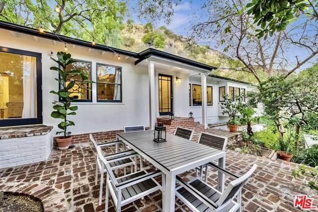 1801 Nichols Canyon Road, Los Angeles (City), CA 90046 (#20664618) :: Better Homes and Gardens Real Estate Vogler Feigen