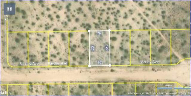 Lot 791 Tract 3195, California City, CA 93505 (#PTP2100558) :: The DeBonis Team