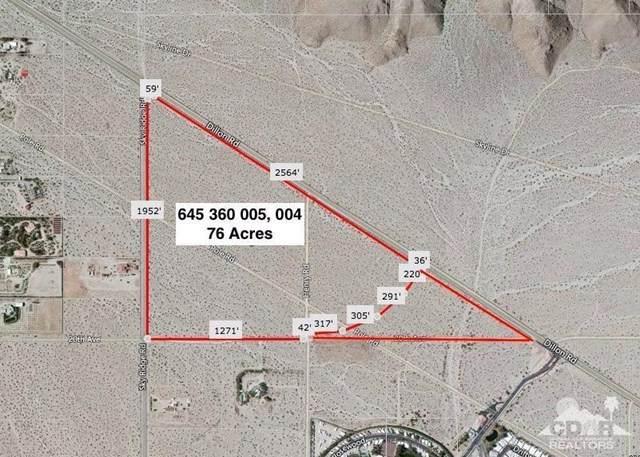 76 Acres Dillon & Sky Ridge Rd, Desert Hot Springs, CA 92241 (#219056398DA) :: Frank Kenny Real Estate Team