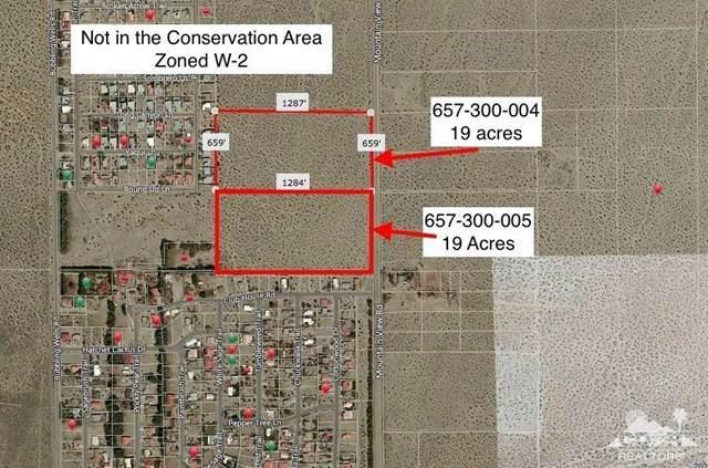 19-38 Acres Mountainview, Desert Hot Springs, CA 92240 (#219056396DA) :: Frank Kenny Real Estate Team