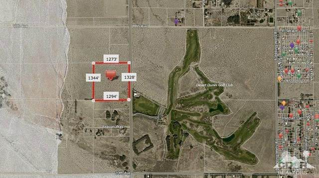 38 Acres Palm Drive, Desert Hot Springs, CA 92241 (#219056397DA) :: Frank Kenny Real Estate Team