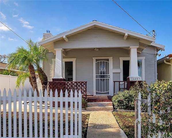 24403 Ward Street, Torrance, CA 90505 (#SB21014386) :: American Real Estate List & Sell