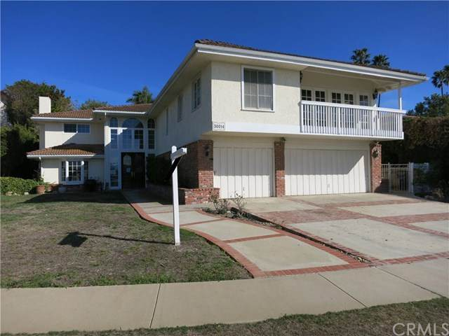 30014 Via Victoria, Rancho Palos Verdes, CA 90275 (#SB21026758) :: Millman Team