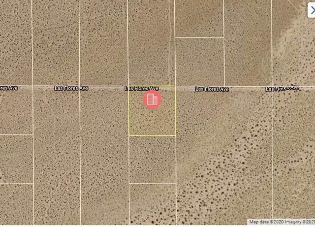 0 Las Flores Avenue, Ridgecrest, CA 93555 (#CV21027287) :: Power Real Estate Group