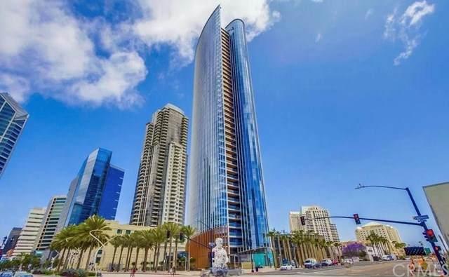 888 W E Street #504, San Diego, CA 92101 (#OC21028200) :: Steele Canyon Realty