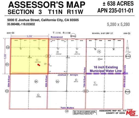 5000 E Joshua Street, California City, CA 93505 (#21693276) :: The Marelly Group | Compass