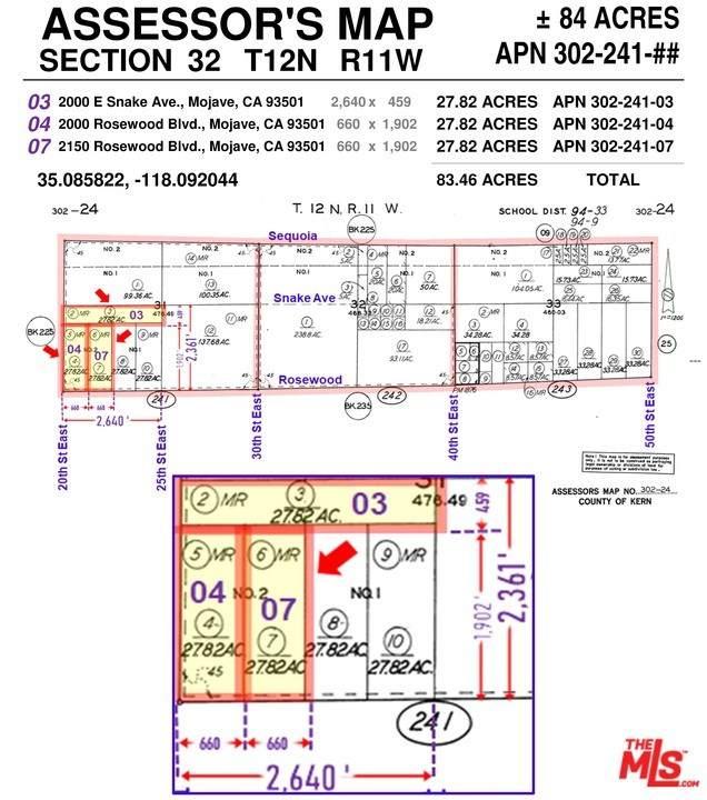 2000 E Rosewood Boulevard, Mojave, CA 93501 (#21693792) :: Veronica Encinas Team