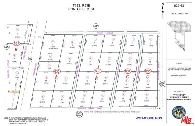500 E Blosser Ranch Road, , NV 89060 (#21694412) :: RE/MAX Empire Properties