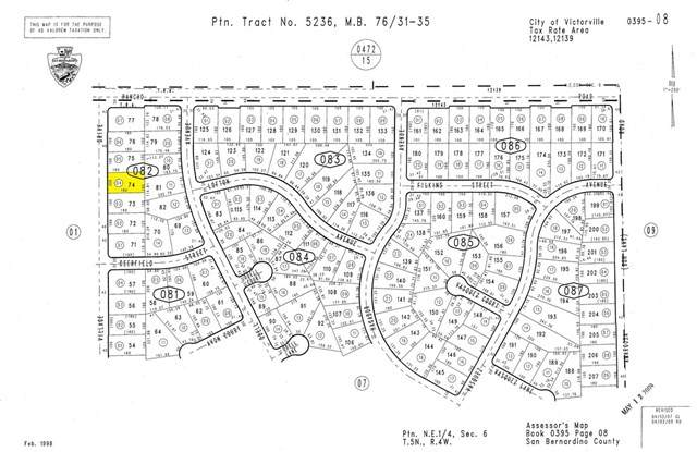 0 Village Drive, Victorville, CA 92394 (#SW21034267) :: Realty ONE Group Empire