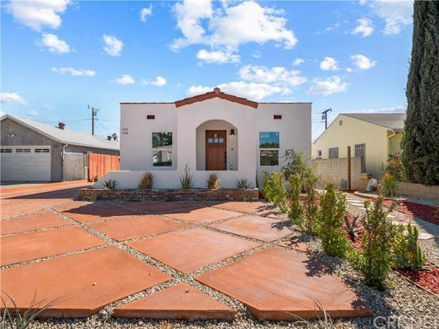424 426 Fermoore, San Fernando, CA 91340 (#SR21035601) :: The Brad Korb Real Estate Group