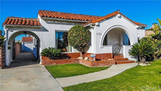 2429 W 78th Place, Inglewood, CA 90305 (#PW21037079) :: The Alvarado Brothers