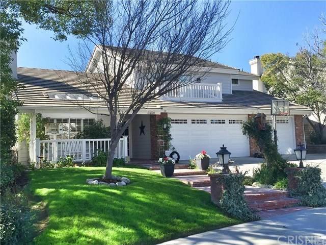 23510 Millston Court, Valencia, CA 91354 (#SR21038139) :: Wendy Rich-Soto and Associates