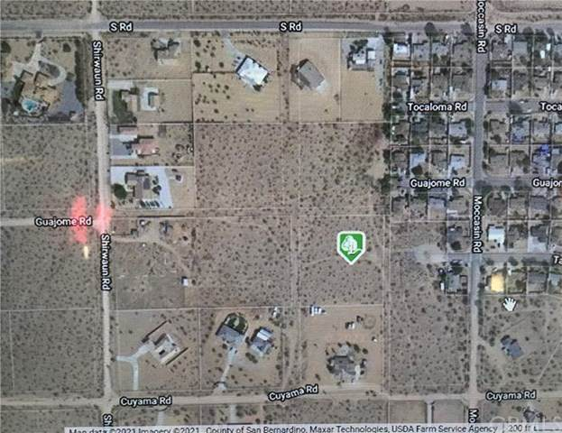 0 Cuyama, Apple Valley, CA 92307 (#SW21035163) :: Power Real Estate Group