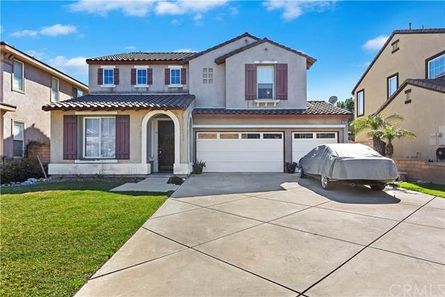 11849 Lucca Drive, Rancho Cucamonga, CA 91701 (#CV21038828) :: Rogers Realty Group/Berkshire Hathaway HomeServices California Properties