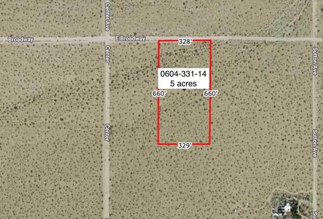 62985 Broadway Street, Joshua Tree, CA 92252 (#219057865DA) :: Powerhouse Real Estate